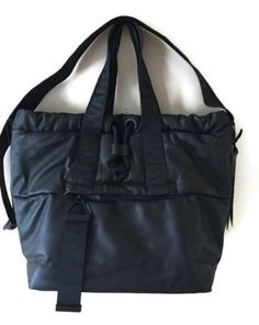 Alexander Wang x H&M Black Leather Bag Limited Edition Sold Out In Stores #AlexanderWang #TotesShoppers