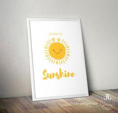 Zeigt You are my Sunshine ideal, um das Kinderzimmer dekorieren. Weil sie alles für uns sind ♥ ► INFOS: • 3 Größen: klein: 13x18cm - Weg: A4 21x29.7cm - Grand: A3 29.7x42cm Diese Formate sind in 2 Ausführungen erhältlich: • Papier, gedruckt und an Sie geliefert • PDF-Version HD, Digital