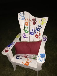 Mini Chair   DIY Fathers Day Gifts for Grandpa from Kids