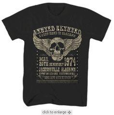 Lynyrd Skynyrd Men's Black T-shirt $19.95 For more go here http://streetlegaltshirts.com/ #T #Shirts #tshirt #t-shirt  #Tees
