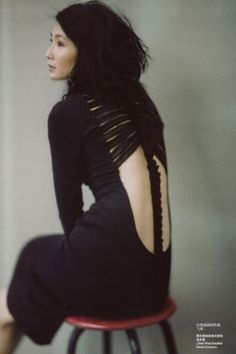 Vogue China, October 2006 - Photographer: Paolo Roversi - Model: Maggie Cheung - Jean Paul Gaultier, Fall 2006 Couture