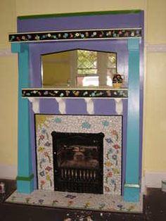 Mosaic Fireplace                                                                                                                                                                                 More