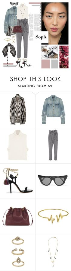 """Soph."" by frou-frou ❤ liked on Polyvore featuring Temperley London, Yves Saint Laurent, Étoile Isabel Marant, Vivienne Westwood Anglomania, Isabel Marant, Illesteva, Sophie Hulme, Bling Jewelry, Topshop and Feather & Stone"