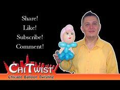 Princess Balloon Hairband Instructions  | ChiTwist Chicago Balloon Twisting - YouTube