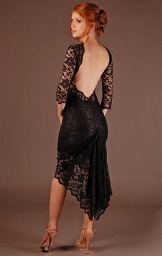 Image detail for -... Dresses › Kevan Jon › Kevan Jon Black Backless Lace Riley Dress