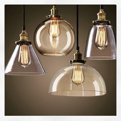 Modern hanging lights with a vintage feel.  #home #homedesign #lighting #amaluxlighting #lampshadedesign #lampshade #lovehome #interiors #hanginglights