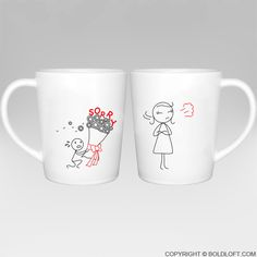 Forgive Me Please!™ Couple Coffee Mugs
