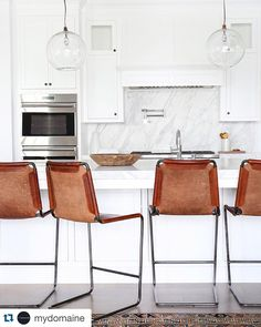 These barstools are to die for!