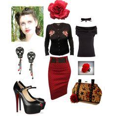 Rockabilly Black n' Red