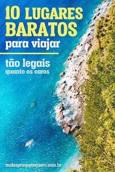 Já conhece Cinque Terre, na Itália? Pois esta é um das nossas 10 dicas de lugares baratos para viajar e tirar férias com custo bem pequenininho!