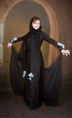 عبايات مصرية سوداء 2014   مجلة جمال حواء
