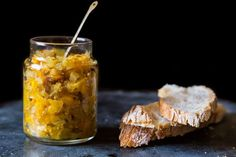 Orange-Fennel Mostarda... Both savory and sweet, this your cheese board's new best friend - also a relish for brined pork.