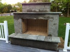 Pergola For Small Backyard Outdoor Fireplace Plans, Outside Fireplace, Outdoor Fireplace Designs, Backyard Fireplace, Diy Fireplace, Backyard Patio, Outdoor Fireplaces, Pellet Fireplace, Stone Fireplaces