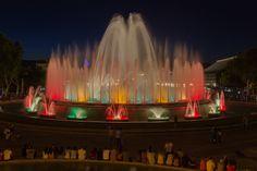 The Singing Fountain, Barcelona by Igor Ivanov. Montjuich.
