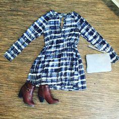#ootd #shoponline #shopbluetique #dresses #booties
