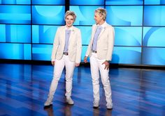 On the Wednesday, Feb. 24, episode of the 'Ellen DeGeneres Show,' Kate McKinnon did a spot-on impression of the talk show host — watch