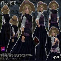Feyline Fashions Ednah for Child Avatar ~ Quest Gift Avatar, Victorian, Children, Movies, Movie Posters, Gifts, Art, Fashion, Young Children