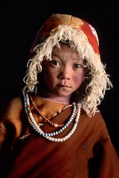 CHILDREN OF THE WORLD ~  photo by Steve McCurry