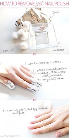 20 Nail Hacks, Tips, & Tricks For An Easier At-Home Manicure | Gurl.com