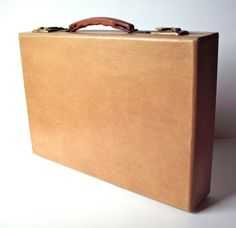 Vintage Expanding File Briefcase by PoorLittleRobin on Etsy, $22.00