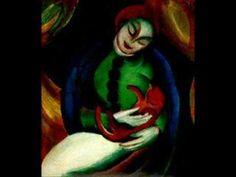 Franz Marc, an expressionist master of colors and animals - http://designmuitomais.blogspot.com.br/2015/02/franz-marc-um-artista-expressionista-um.html