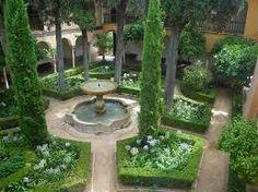 palace courtyard garden - Google Search