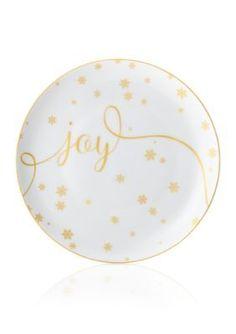 Mikasa  Joy Delray Holiday Accent Plate
