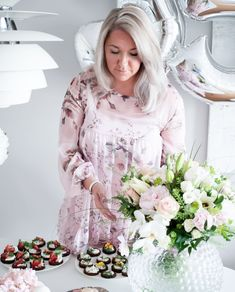 Flowers on my birthday Dresses With Sleeves, Inspired, Long Sleeve, Birthday, Flowers, Blog, Inspiration, Style, Fashion