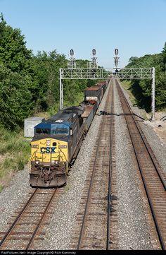 RailPictures.Net Photo: CSXT 455 CSX Transportation (CSXT) GE AC4400CW at Willard, Ohio by Rich Kaminsky