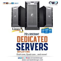 Get #Dedicated_server Power with Exceptional Service  Starting at $69.00/mo.  http://cairowebdesign.com/en/dedicated