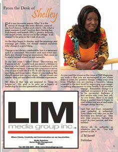 Page 7 of SMJ Magazine Fall Issue! GET INSPIRED, we hope you love it as much as we do! ♥