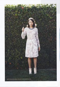 Aubrey Plaza photographed by Damon Heath for Lula Magazine, Fall/Winter 2011