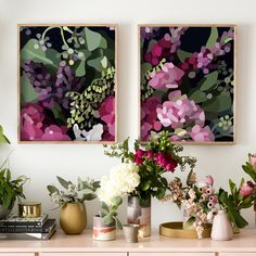 Shop Contemporary Art Work Online or Visit Our Showrooms To Get Inspired With The Latest Art Work From Kimmy Hogan - Bloom IV Artwork Greenhouse Interiors, Hanging Artwork, Abstract Watercolor, Fine Art Paper, Decoration, Home Art, Flower Art, Home Accessories, Design Art