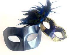 Masquerade Mask Women, Couples Masquerade Mask from USA by HigginsCreek Couples Masquerade Masks, Masquerade Ball, Costume Birthday Parties, Carnival Festival, Hand Designs, Mardi Gras, Halloween Party, Usa, Women
