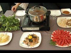 How to make Shabu Shabu, Korean style Beef & Mushroom Hot Pot  Shop Korean Ingredients at www.crazykoreanshopping.com #koreaningredient #koreancooking #koreanfood