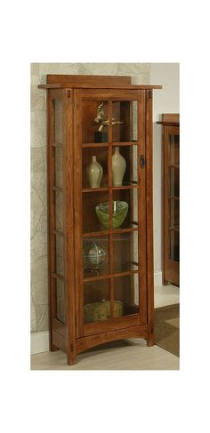 ... Martins Furniture   Lancaster PA. Bungalow Curio Cabinet