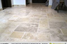 MARMURA (102/217) Tile Floor, Marble, Patio, Flooring, Houses, Interiors, Travertine, Granite Counters, Tile Flooring