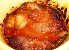 The Recipe Crayon Box: Slow Cooker Saucy Country Ribs
