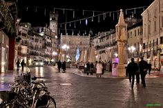Piazza Erbe, Verona, Italy Best for fine wine, relaxing and watching stylish people go by - wonderful!