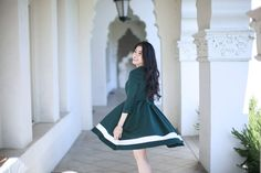 A Dress Silhouette that all Petite Girls Need Dress Silhouette, Chic, Girls, Blog, Beauty, Dresses, Fashion, Toddler Girls, Beleza