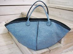 Kimono Bag E -------- InsideOut Felt. Hand Bag. by AnnaLela #bag #accessories #gifts #shopping