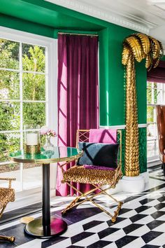 Old Hollywood is New Again at The Prospect Hotel – Trendland Online Magazine Curating the Web since 2006 Dream Home Design, My Dream Home, House Design, Design Design, Hollywood Regency Bedroom, Modern Luxury, Home Decor Inspiration, Decor Ideas, Decor Styles