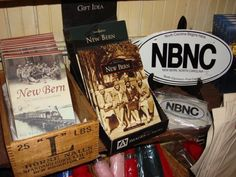 Books on the history of New Bern, NC