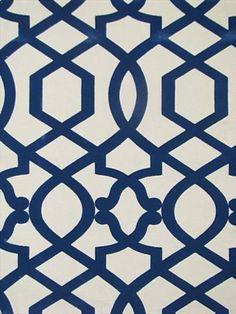 "Sultana Lattice Luna 100% cotton for Drapery, Bedding, Pillows, Light Use Furniture. 6.75"" up the roll repea"