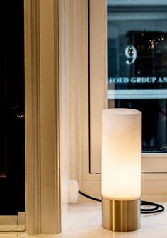 The Chairman table lamp by Niclas Hoflin for Rubn.