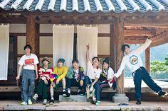 BTS summer package in Korea 2019 Namjoon, Seokjin, Btob, Jung Hoseok, Mamamoo, K Pop, Bts Summer Package, Bts Group Photos, Bts Twt