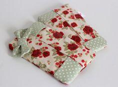 O Mundo de Calíope: Porta-lenços de tecido fofo - DIY