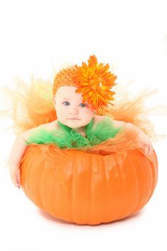 Tutus, headands and such for your little pumpkin. So cute =-)