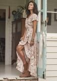 Muse Maxi Dress Vintage Blooms Musk
