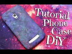 DIY návod na silikonové pouzdro na telefon nebo tablet - YouTube